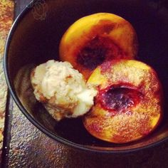 Sweet Roasted Peaches with Brown Sugar Butter