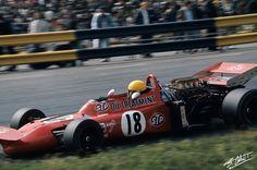Nanni Galli, March 711 Alfa Romeo, Dutch Grand Prix, Zandvoort, 1971.