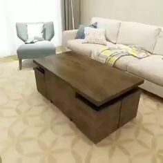 Folding Furniture, Space Saving Furniture, Home Decor Furniture, Table Furniture, Cool Furniture, Bedroom Furniture, Rustic Furniture, Furniture Ideas, Outdoor Furniture