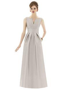 Alfred Sung Style D655 http://www.dessy.com/dresses/bridesmaid/d655/#.VPzUEYTD9GA