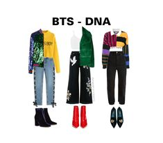 Kpop Concert Outfit, Concert Fashion, Kpop Fashion Outfits, Stage Outfits, K Pop, Bts Clothing, Bts Inspired Outfits, Fashion Design Sketches, Korea Fashion