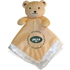 Baby Fanatics New York Jets Bear Security Blanket - NFLShop.com