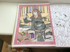 73 Best Harry Potter Coloring Book images | Books, Coloring book ...