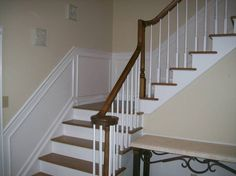 staircase chair molding - Google Search