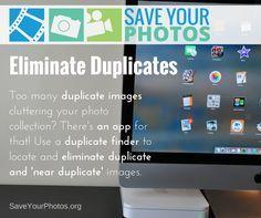 Eliminate duplicate