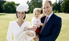 Princess Charlotte by Mario Testino – christening photographs released | UK news | The Guardian