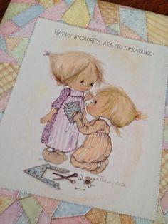 Betsy Clark vintage unused scrap book or memory by ThePinkRoom