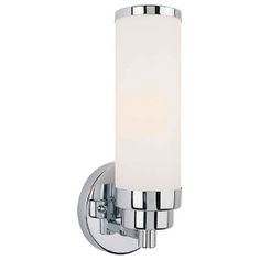 Mono Chrome Three Light Sconce Eglo Flush To Wall Wall Sconces Wall Lighting