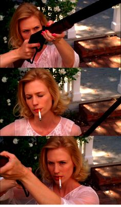 Betty Draper, gun queen par none
