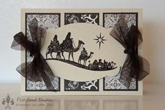 Stampin' UP! Come to Bethlehem by First Hand Emotion