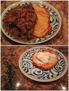 Polish Gulasz and Potato Pancakes <3