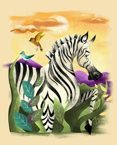 Art Print by Dave Mot.. so cute.