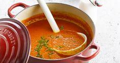 Soep van geroosterde paprika's - Recept | VTM Koken