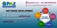 Software Development Company in Gurgaon For more information contact us or visit our website  paztechnologies.com/