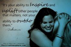 Aspire to inspire...