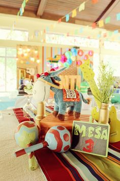 Santi's Mexican Fiesta Themed Party – Centerpiece