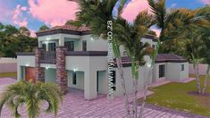 5 Bedroom House Plan MLB-1815D – My Building Plans South Africa 6 Bedroom House Plans, My House Plans, My Building, Building Plans, House Plans South Africa, Double Garage, Mlb, How To Plan, Mansions