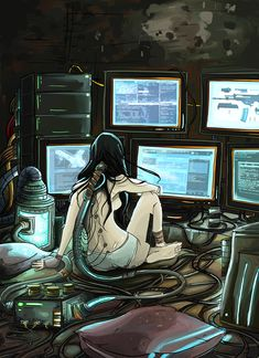 Cyberpunk browser by ~Rodethos on deviantART