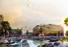 The winning project of the International Design Competition of the Italian Pavilion at Expo 2015 is extremely ambitious and it definitely lives up to Pavilion Architecture, Expo 2015, Design Competitions, Shopping Mall, Milan, Italy, Landscape, Pictures, Gallery