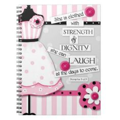 Shop Strength & Dignity Scripture Encouragement Card created by JustBeeNMeBoutique. Journal Inspiration, Christian Gifts For Women, Bible Study For Kids, Scripture Cards, Custom Notebooks, Christian Encouragement, Diy Cards, Handmade Cards, Custom Greeting Cards