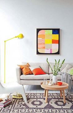15 Colorful Scandinavian Decor Ideas for a Minimalist Spring Vibe via Brit + Co