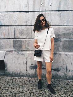 Paulina Stepowska -  - White overall