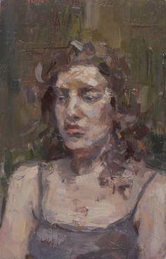 """Saatchi Art Artist Tyler D Graffam; Painting, """"Portrait of A Sitter"""" #art"""