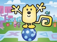 My 2 year olds favorite Nick Jr. show. WOW WOW WUBBZY!