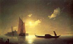 ÖZER RAYMAN: Dünyaca Ünlü Deniz Manzaralarının Ressamı - Ivan Ayvazovski (1817-1900)
