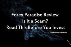 Forex Paradise Review – Is It a Scam? Read Before You Invest