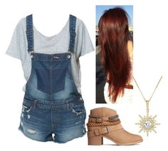 """""""School Day Blues"""" by strangerthanfanfiction713 on Polyvore featuring Zara, H&M and BERRICLE"""