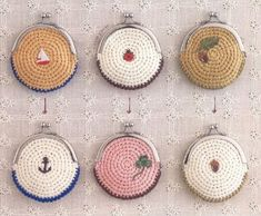 Marvelous Crochet A Shell Stitch Purse Bag Ideas. Wonderful Crochet A Shell Stitch Purse Bag Ideas. Crochet Wallet, Crochet Coin Purse, Crochet Gifts, Diy Crochet, Crochet Earrings, Crocheted Purses, Simple Crochet, Crochet Bags, Crochet Ideas