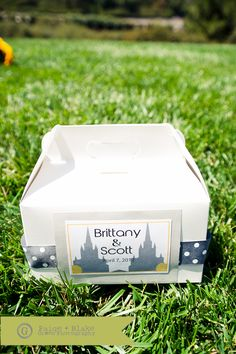 A boxed lunch for your wedding guests to eat during a long lay over between the ceremony and reception, or for an LDS wedding, lunch for the people who came to watch you exit the temple. Sandwich, pasta salad, chips, water and a chocolate treat!