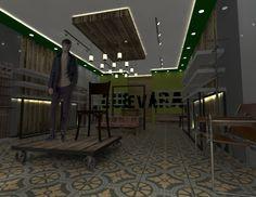 Interior local comercial.  D.I.E Ignacio Stesina.