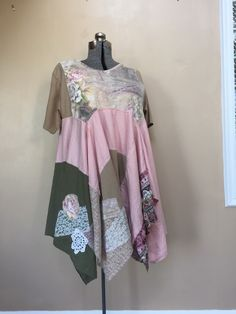 A personal favorite from my Etsy shop https://www.etsy.com/listing/233328136/plus-size-upcycled-romantic-dress