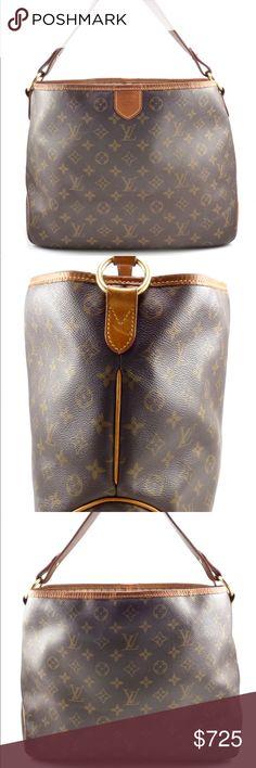Louis Vuitton Canvas Monogram Bag With Gold Accents 5ckH0h4