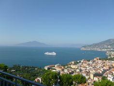 Sorrento from hotel balcony