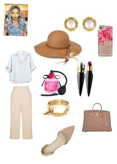 """""""Unbothered """" by qveennnnnn on Polyvore featuring New Look, Christian Louboutin, Victoria's Secret, Chanel, Nly Shoes, Casetify, Hermès, Steve Madden and Taylor and Tessier"""
