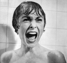 Janet Leigh in Psychose (Alfred Hitchcock). Classic.
