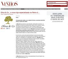 Artigo Revista de Vinhos.