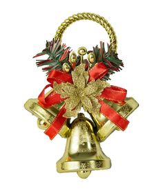 Shop SGS Christmas Tree Hanging Decoration Golden Bells - Small online at lowest price in india and purchase various collections of Christmas Tree & Decoration in SGS brand at grabmore.in the best online shopping store in india Christmas Tree Decorations, Christmas Ornaments, Holiday Decor, Online Shopping Stores, Amp, India, Collections, Products, Xmas Ornaments