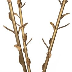 """Acate"" Brass Little Tree-like Coat Hanger Designed by Borek Sipek for Driade 4"