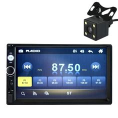 7 Inch HD Bluetooth Screen Car 2 DIN MP5 USB/AUX/FM with Reversing Camera