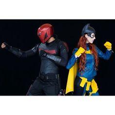 He might never be Dick Grayson, but @_shazbot_ makes a hell of a Red Hood! Photo by @chrishaych from #ozcomiccon 2015. Cowl by @malmeystudios Burnside Batgirl design created by @babsdraws #batgirl #barbaragordon #dccosplay #dccomics #batman #batgirlofburnside #babstarr #cowl #cosplay #cosplayer #cosplaying #redhead #redhair #dccomics #dcnu52 #cape #photography #model #redhood #jasontodd #undertheredhood