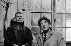 Alberto #Giacometti e Samuel Beckett #foreverfriends