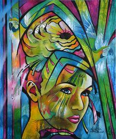 """""""la folie en tête"""" www.jeannetteguichardbunel.com"""