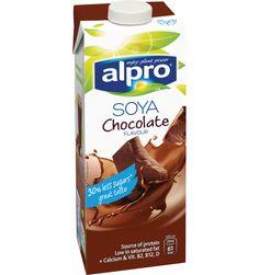 Alpro Chocolate UHT 1L  200ml = HEA