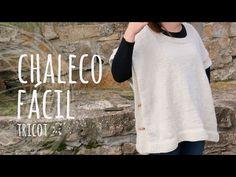 Joanne Archambault shared a video Crochet Hoodie, Crochet Poncho, Knitting Videos, Crochet Videos, Learn How To Knit, Learn To Crochet, Vest Pattern, Crochet Art, Baby Knitting