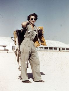 Lillian Yonally at Avenger Field in Sweetwater, Texas, in 1943. Courtesy of Lillian Yonally