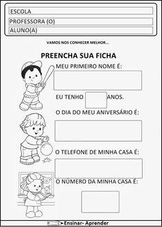 ATIVIDADES DE MATEMÁTICA PARA O 1º ANO – ALFABETIZAÇÃO   Cantinho do Educador Infantil